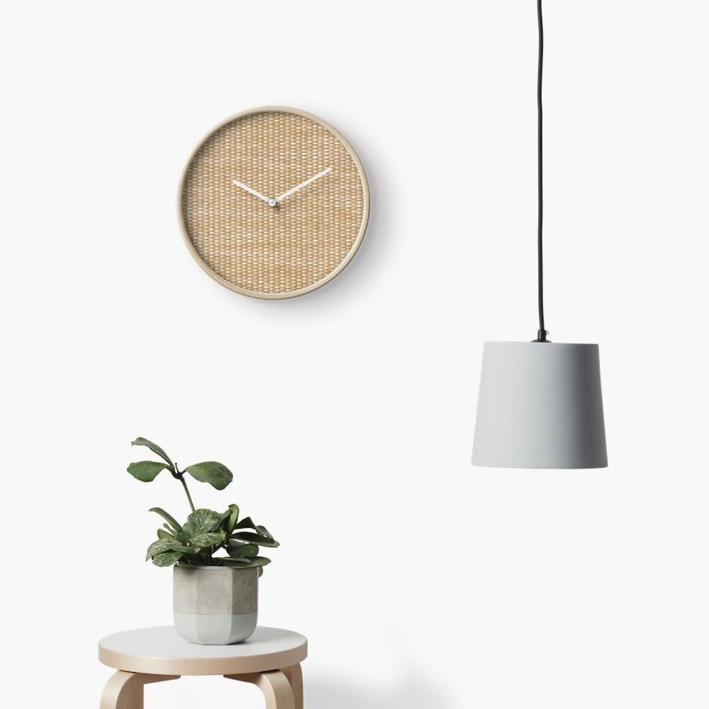 Wicker Clock