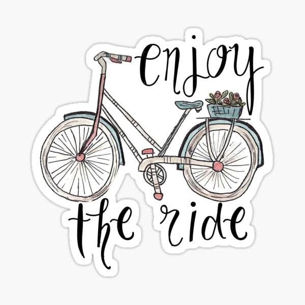 Bike Quotes Stickers Redbubble