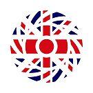 British Patriot Flag Series by Carbon-Fibre Media