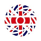 British Patriot Flag Series by Carbon-Fibre Media