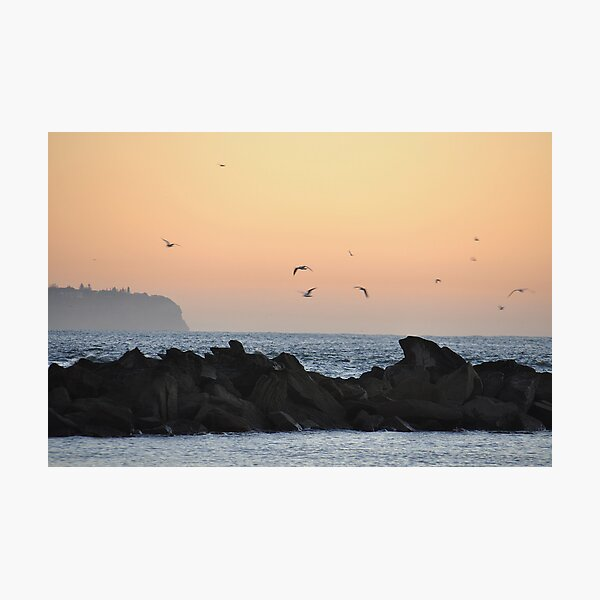 Sunrise View From Swansea to Redhead NSW Australia Photographic Print