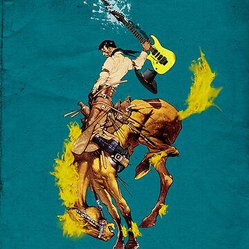Fire Horse  by Louwax
