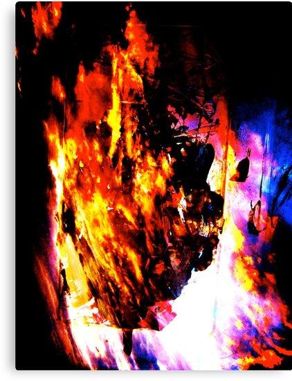 Burning Tree by Brian Damage