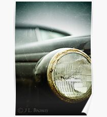 """""""OLD SCHOOL""""  a vintage vehicle from the past. Poster"""