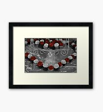 Love cupcakes Framed Print