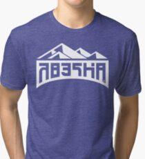 Splatoon Inspired: Blue Peaks Tee Tri-blend T-Shirt