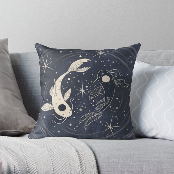 Tui and La  Throw Pillow