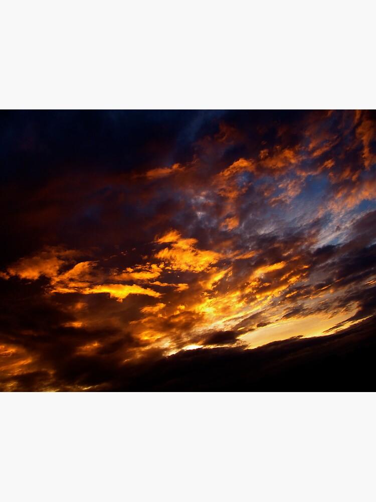 Flaming Sky by Briandamage