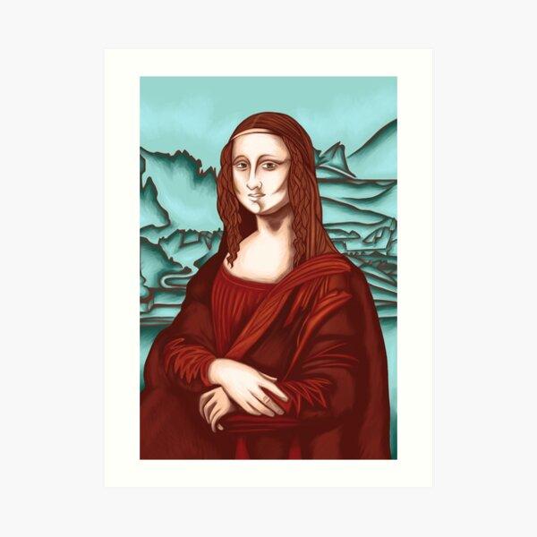 Mona Lisa 67 Art Print