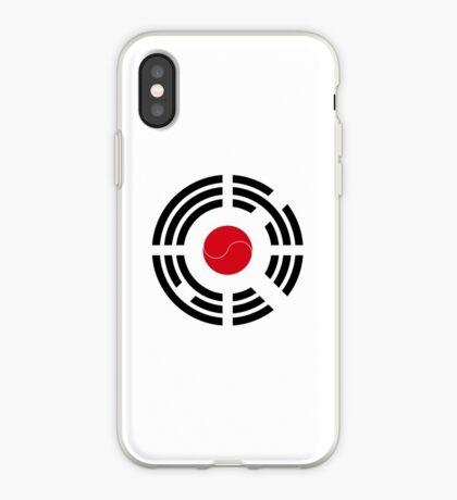 Korean Japanese Multinational Patriot Flag Series iPhone Case