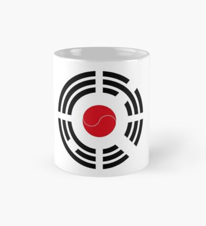 Korean Japanese Multinational Patriot Flag Series Mug