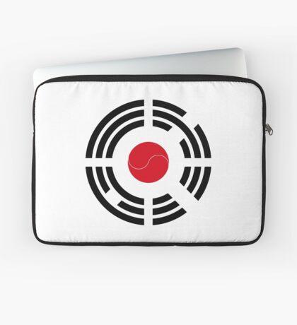 Korean Japanese Multinational Patriot Flag Series Laptop Sleeve