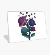 Space Flowers Laptop Skin