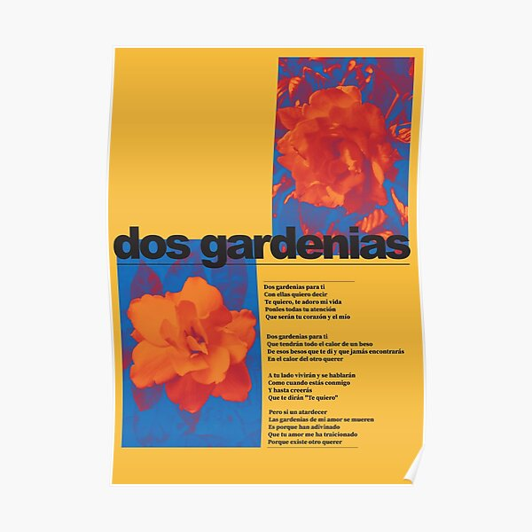 Dos Gardenias Buena Vista Social Club Poster Poster