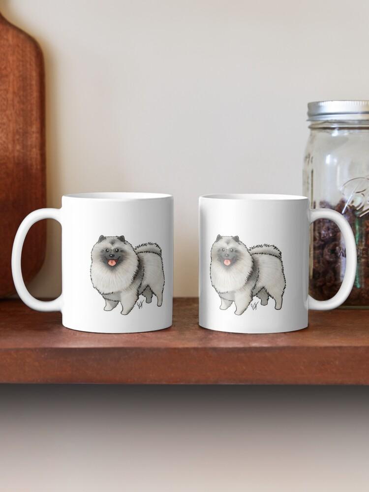 Alternate view of Keeshond Mug