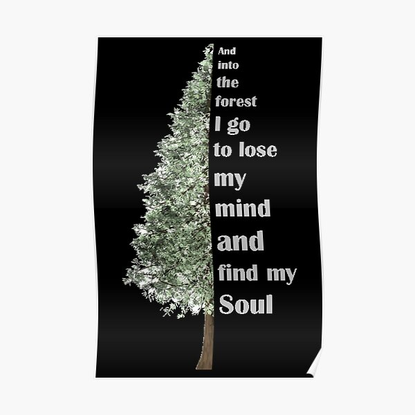 Muir Soul Tree Poster