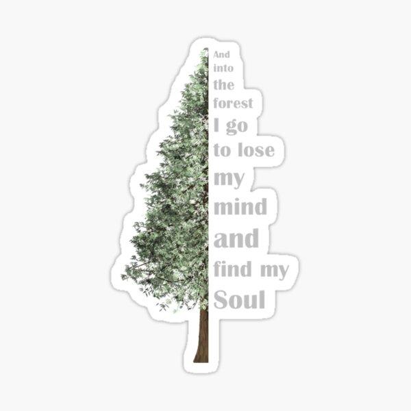 Muir Soul Tree Sticker