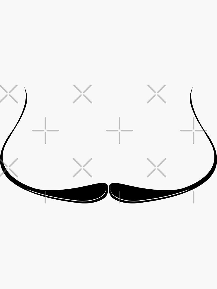 Dali Moustache Icon by THPStock