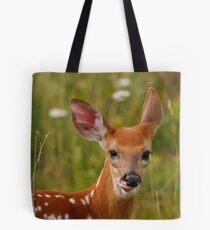 Whitetail Deer Fawn Tote Bag