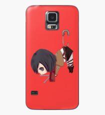 Mikasa in Safety Pin - Shingeki no Kyojin Case/Skin for Samsung Galaxy