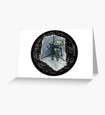 Love's Labours Lost In Space Greeting Card