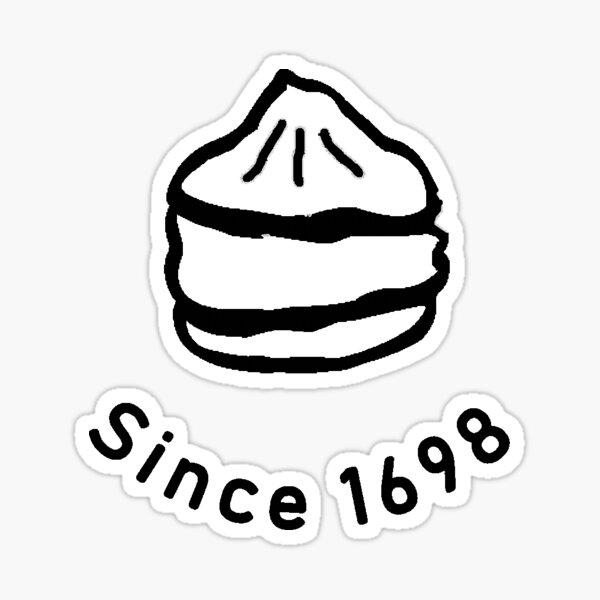 Creampuff since 1698 Sticker