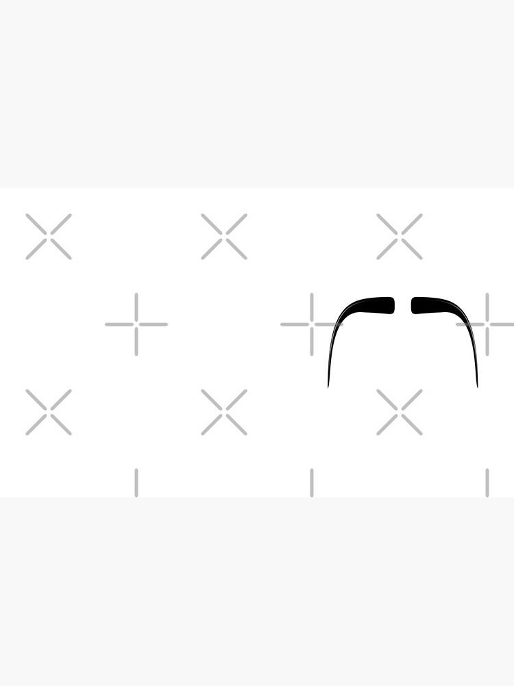 Fu Manchu Moustache by THPStock