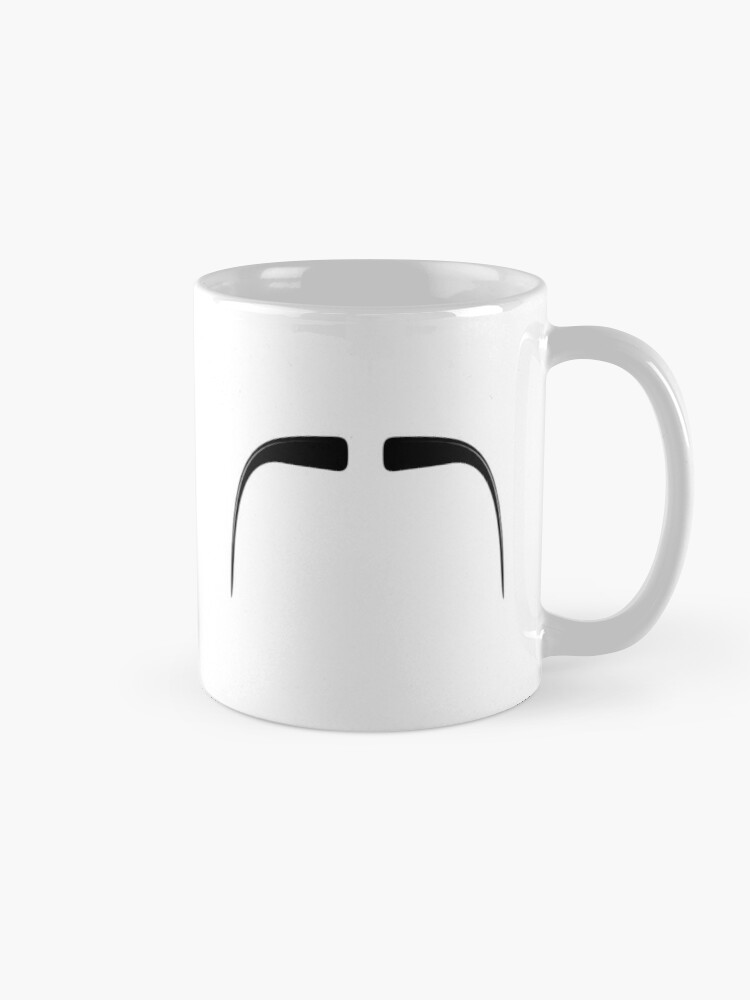 Alternate view of Fu Manchu Moustache Mug
