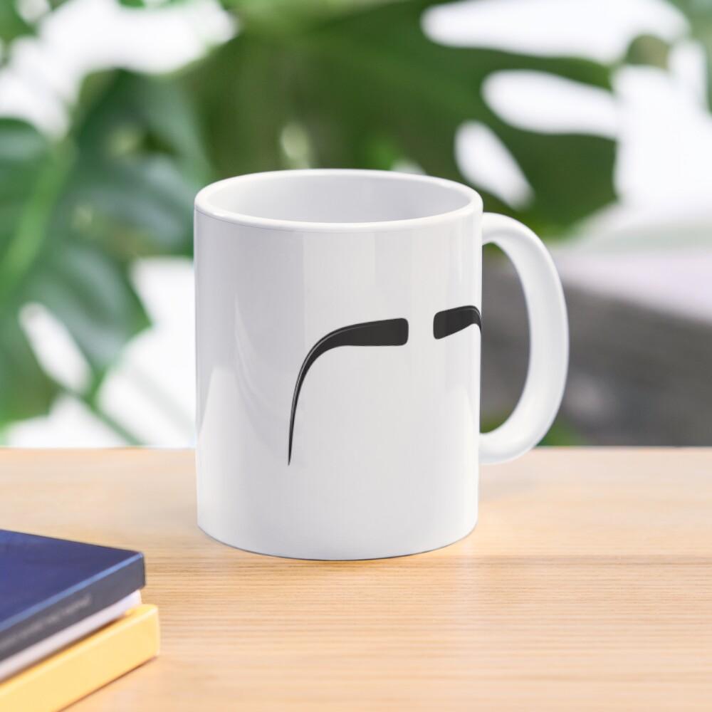 Fu Manchu Moustache Mug