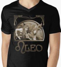 Leo tee Mens V-Neck T-Shirt