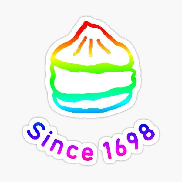 Creampuff since 1698 Pride Edition  Sticker