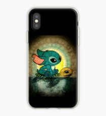 stitch and turtle iPhone Case
