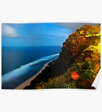Clifftop Colour Poster