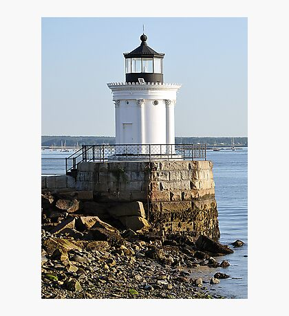 Bug Light at Casco Bay  Photographic Print