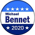 Michael Bennet for President 2020 by BlueWaveUSA