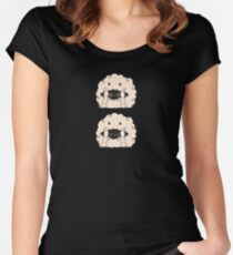Sleepy Wooloo [A] Fitted Scoop T-Shirt