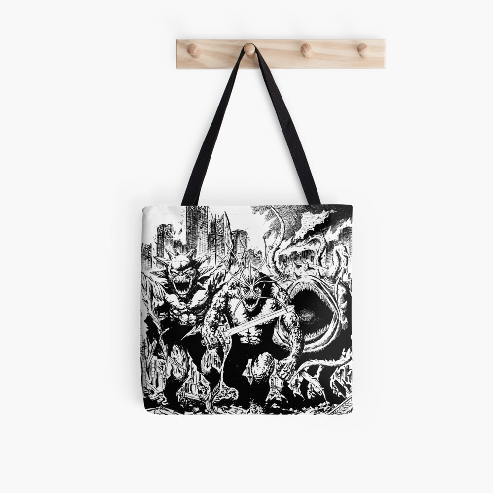 Boss Fight The Brooding Muse  Tote Bag