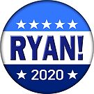 Ryan for President 2020 by BlueWaveUSA