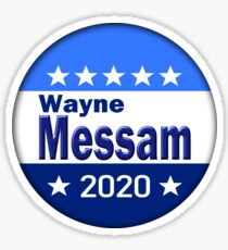 Wayne Messam for President 2020 Sticker
