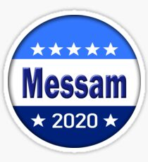 Messam for President 2020 Sticker