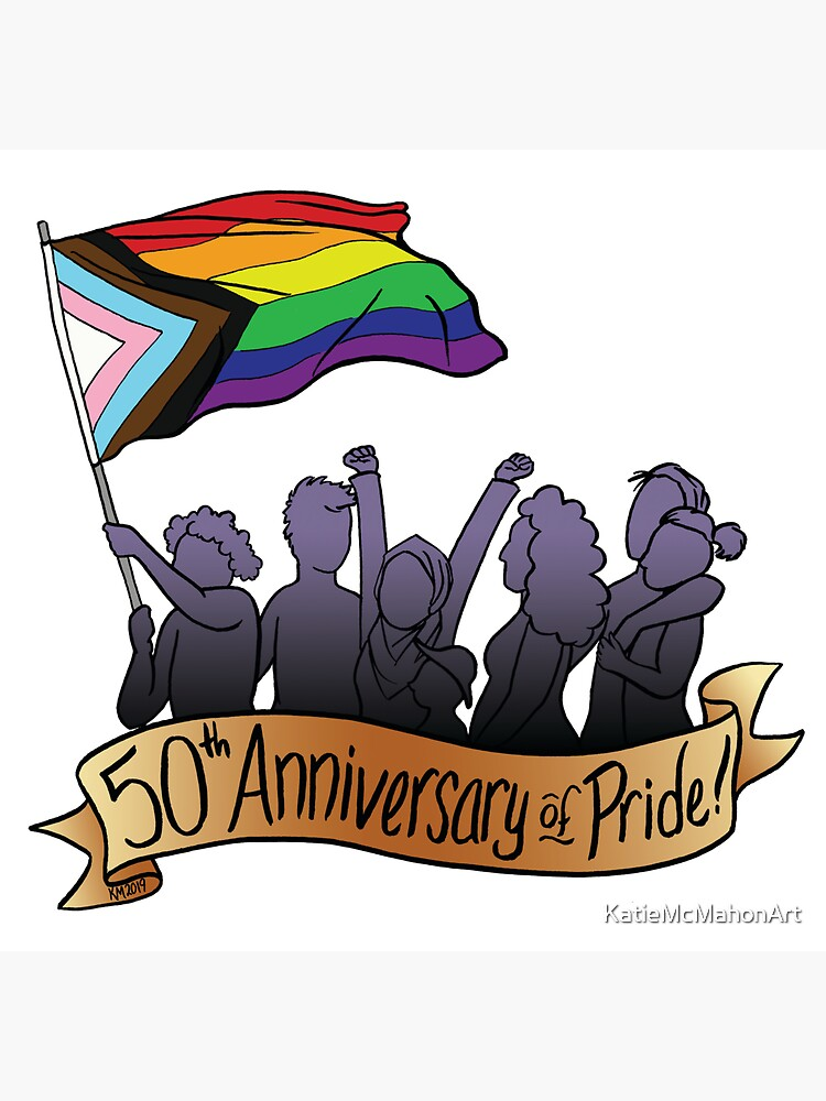50th Anniversary of Pride by KatieMcMahonArt