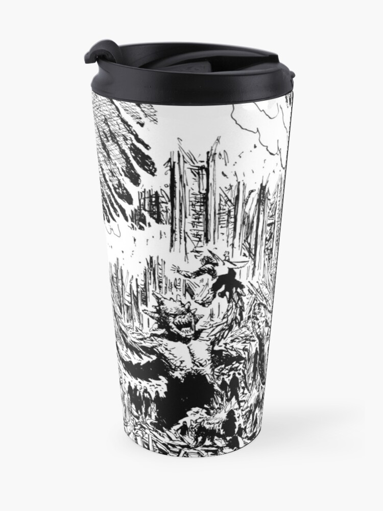 Alternate view of So Outta Luck The Brooding Muse Travel Mug