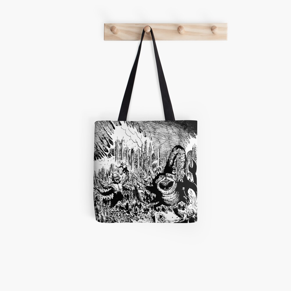 So Outta Luck The Brooding Muse Tote Bag