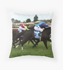 Zoomin Throw Pillow