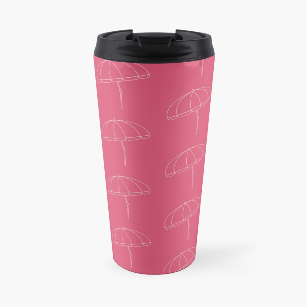 Beach Umbrella Travel Mug