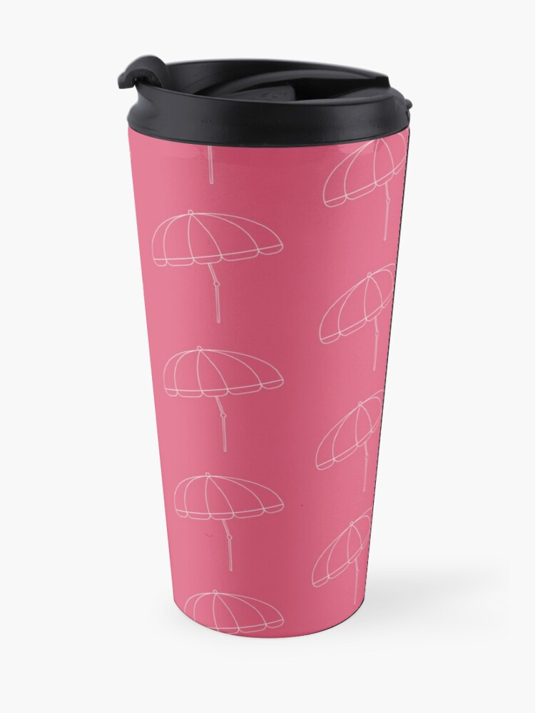 Alternate view of Beach Umbrella Travel Mug