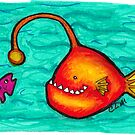 Happy Angler Fish by lelulagames