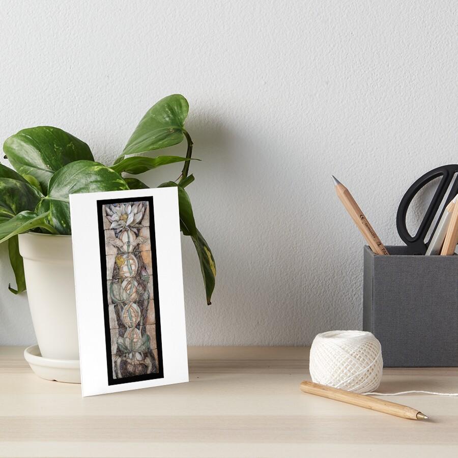 Lotus IV: science & spirit Art Board Print