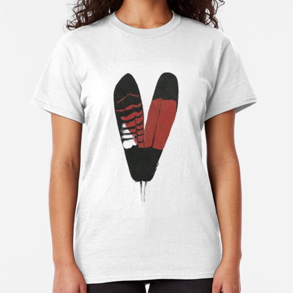 Red-Tailed Black Cockatoo Feathers Classic T-Shirt