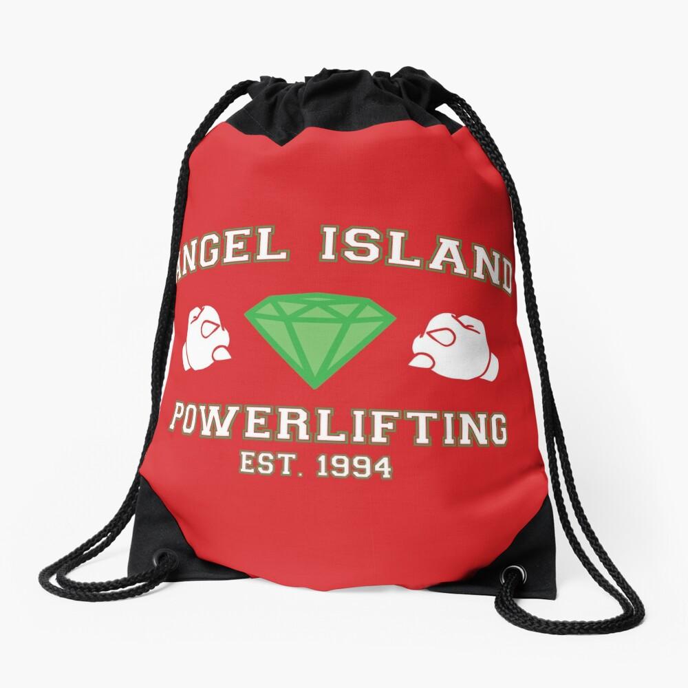 Angel Island Powerlifting Drawstring Bag